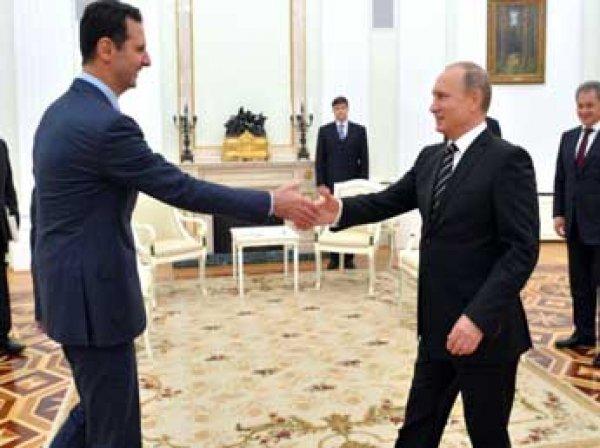 Британские СМИ: Путин просил Асада уйти в отставку