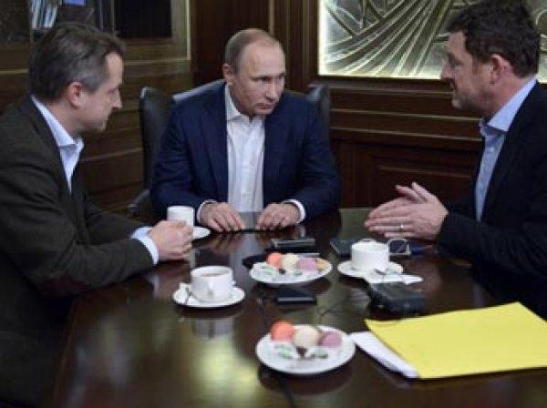 Путин в интервью Bild назвал санкции против РФ глупыми и вредными