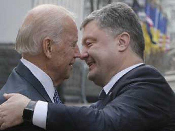 Порошенко и Байден обсудили, как достичь мира на Донбассе