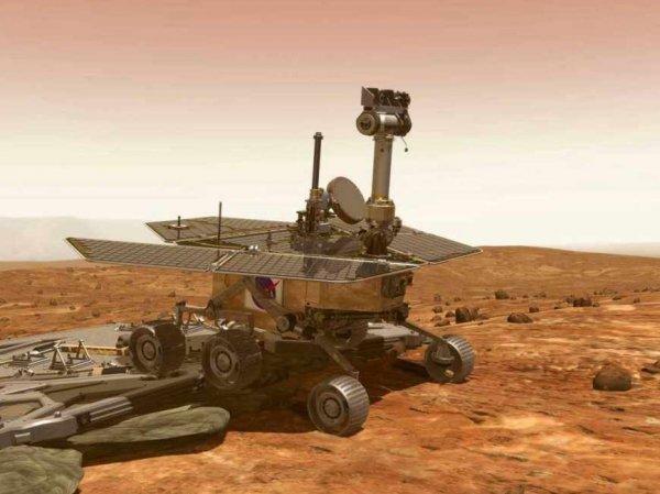 Марсоход Curiosity сделал новое селфи на Красной планете
