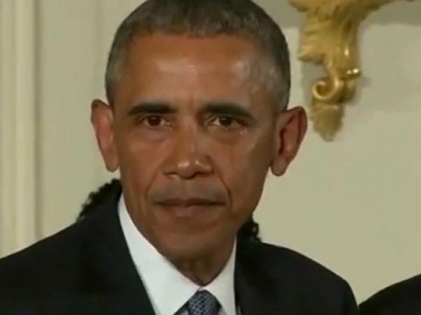 Обама расплакался, объявляя о подписании указа об ограничении оборота оружия в США