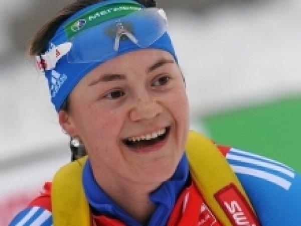 Биатлон, гонка преследования, женщины, сегодня 23 января 2016: Юрлова завоевала золото (видео)