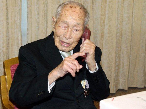 В Японии на 113-м году скончался самый старый мужчина Земли