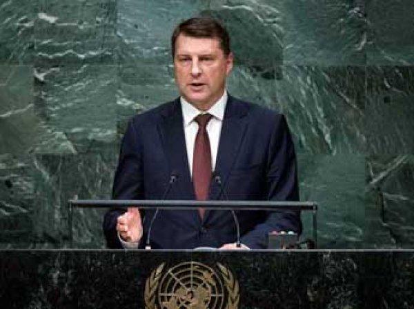 Президент Латвии Вейонис экстренно госпитализирован
