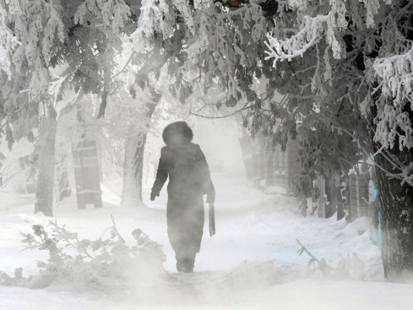 Погода на Рождество 2016: в России будет холоднее нормы