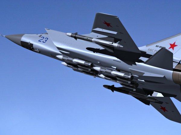 В Красноярском крае разбился истребитель МиГ-31