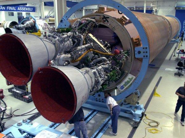 В США заявили о невозможности отказа от российских ракетных двигателей