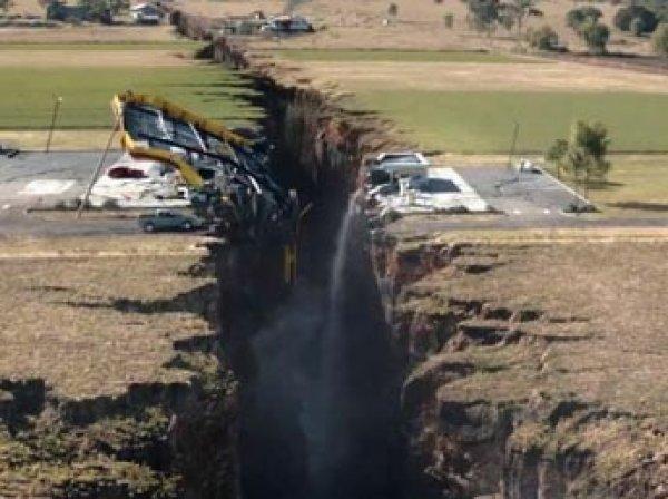 Геологи: США могут исчезнуть с лица Земли