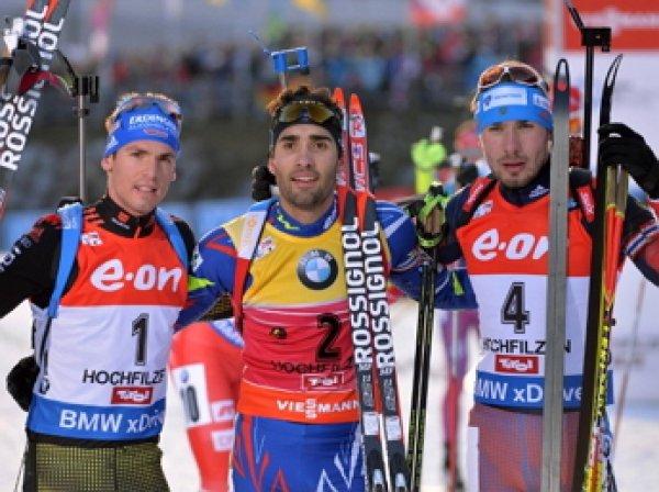 Биатлон, спринт, мужчины, сегодня: Шипулин завоевал серебро в общем зачете Кубка мира по биатлону (ВИДЕО)