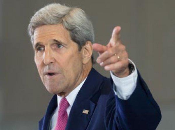 Госсекретарь США Керри обвинил Россию в гибели мирных жителей в Сирии
