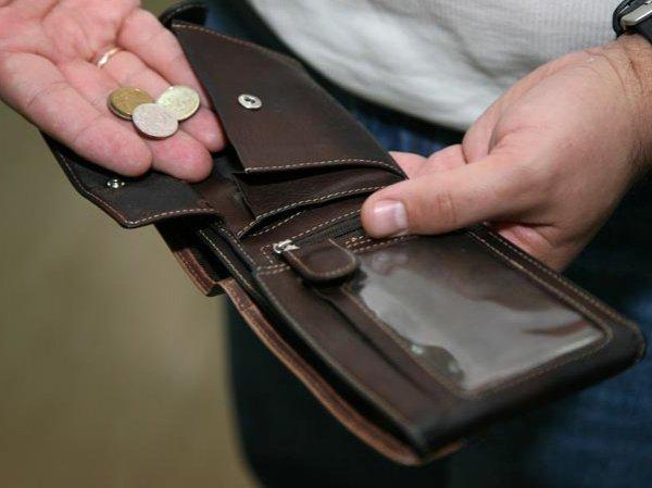 Росстат: реальные доходы россиян за месяц упали на 52%