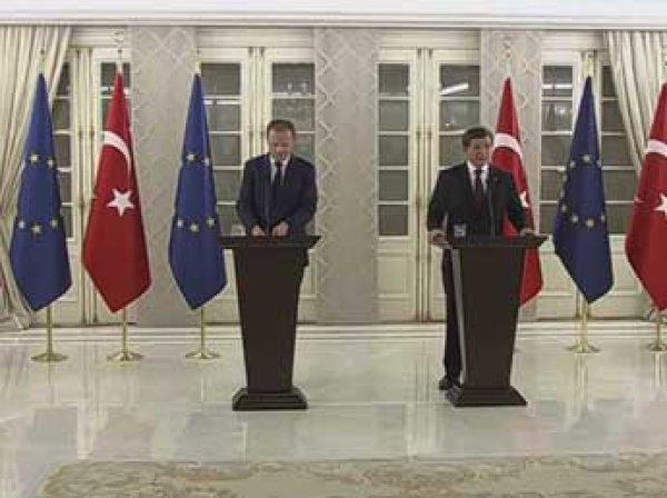 Лидеры ЕС согласовали позицию по миграционному соглашению с Турцией