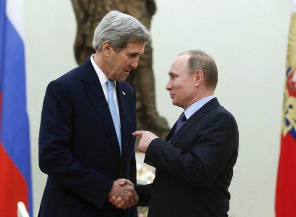 Джон Керри назвал условия снятия санкций с России (ВИДЕО)