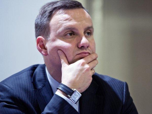 Президент Польши Анджей Дуда попал в аварию