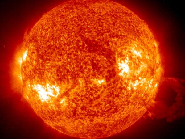 Ученые NASA показали удивительное изображение Солнца
