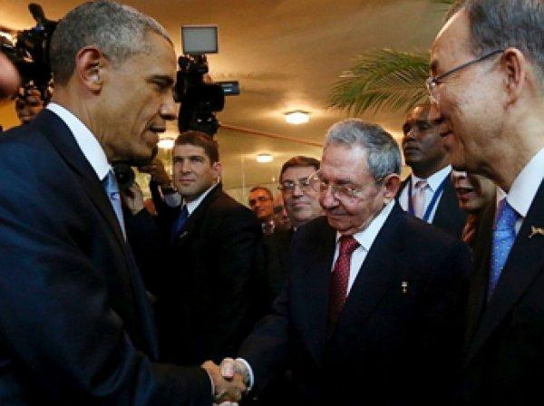 Обама и Кастро начали переговоры Гаване