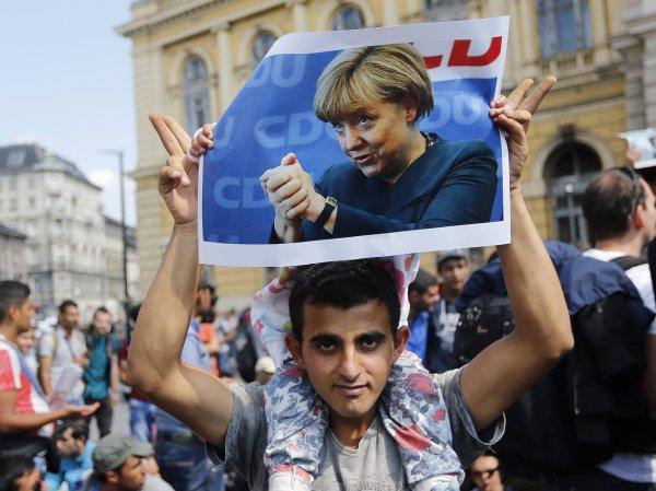 Германия стала рекордсменом по количеству беженцев в Европе