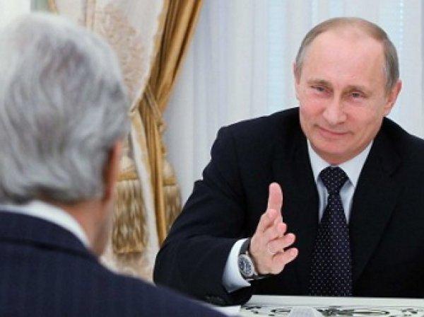 Владимир Путин пошутил над Джоном Керри