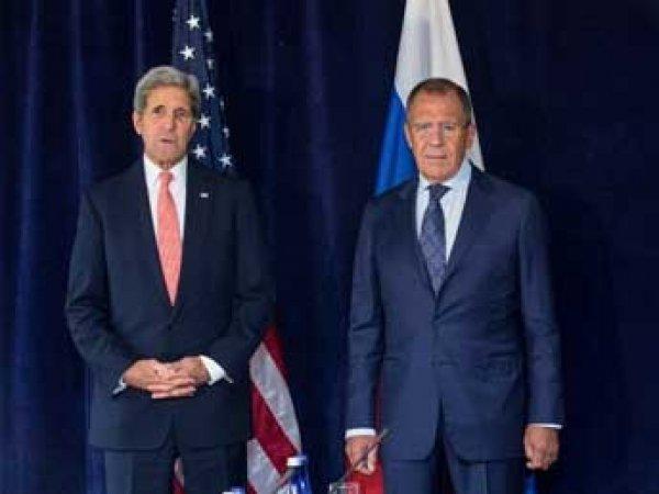 В Москве началась встреча Керри с Лавровым, на повестке дня Сирия