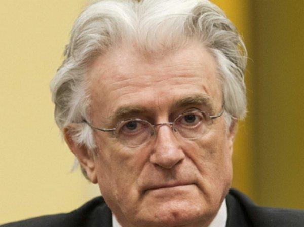 Радован Караджич приговорен к 40 годам тюрьмы