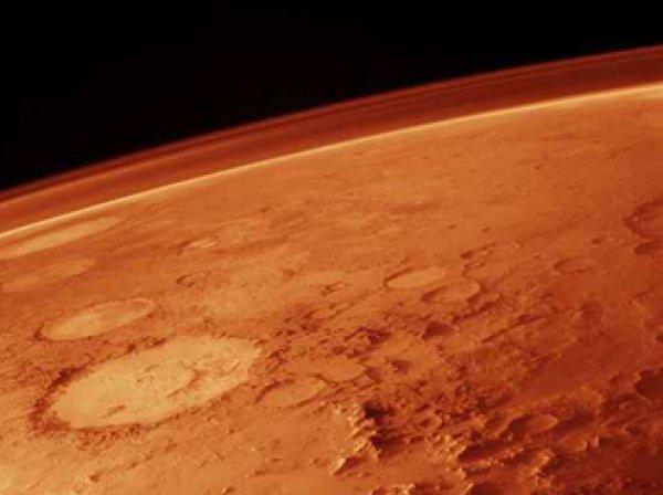 Ученые нашли на Марсе древний наскальный рисунок бегущего человека
