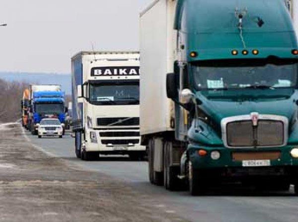 В России в два раза увеличили сборы для иностранных дальнобойщиков
