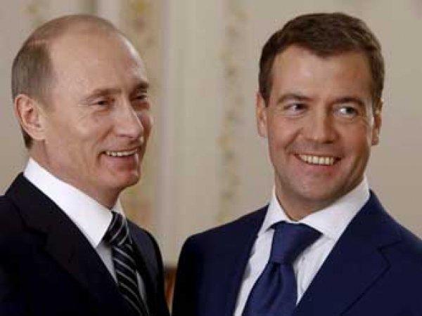 Путин и Медведев отчитались о доходах: разницы почти нет
