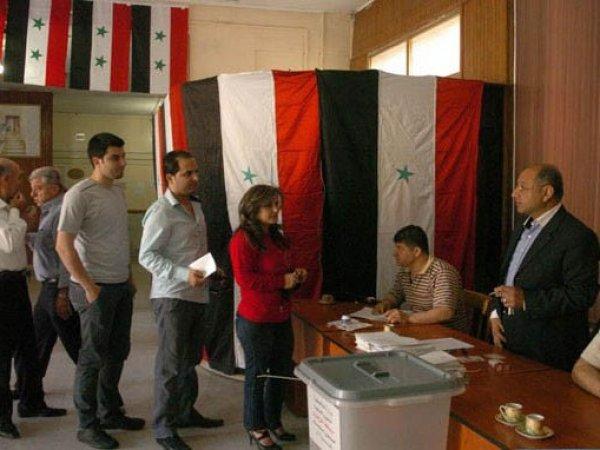 В Сирии проходят парламентские выборы