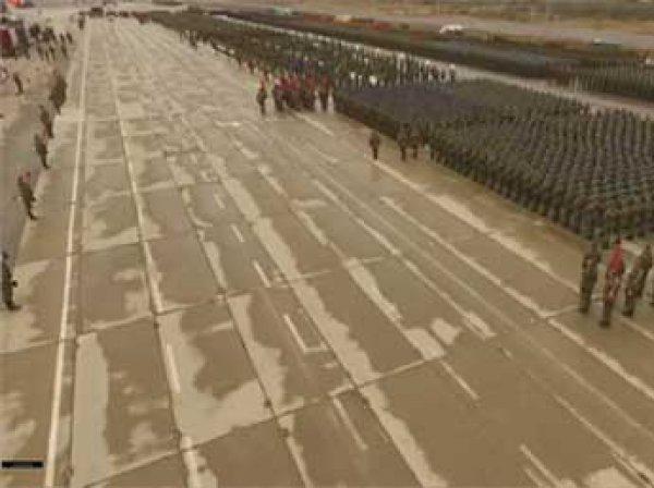 Парад Победы 2016: Видео репетиции с высоты с высоты птичьего полета появилась в Сети