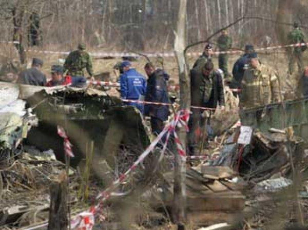 Польша назвала фальсификацией отчет о авиакатастрофе под Смоленском