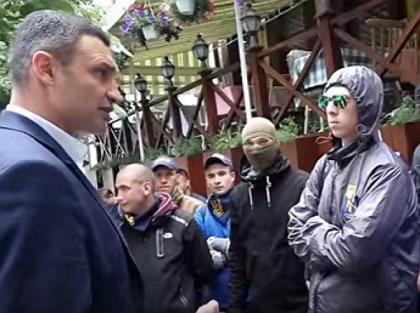 Кличко выдал новый перл, испугавшись малолетних неонацистов