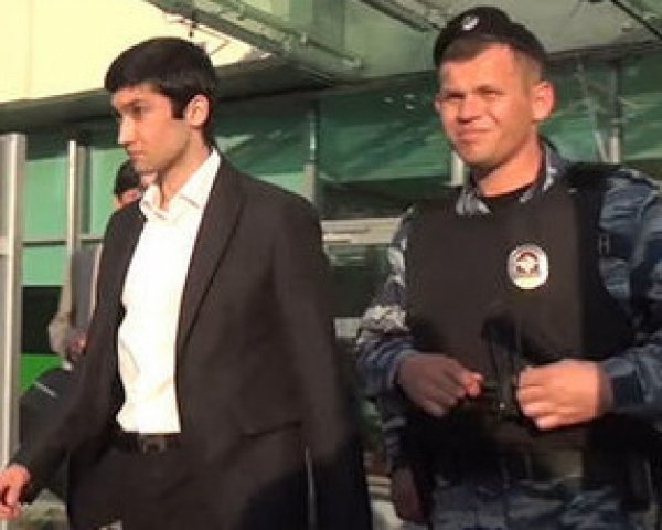 Сына замглавы «Лукойла» задерживали два отряда ОМОНа: опубликовано видео