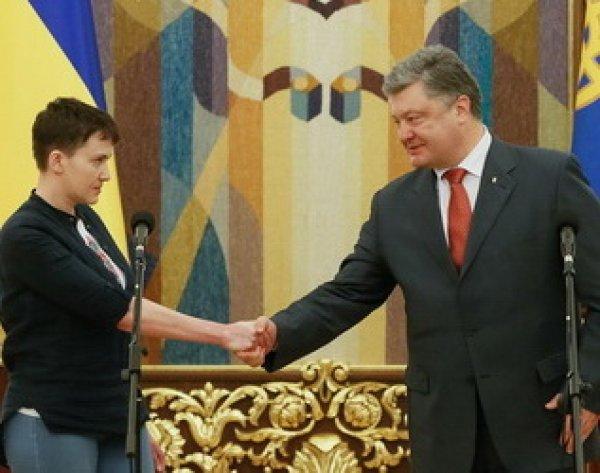 Порошенко предложил Савченко встретиться с лидерами ЕС