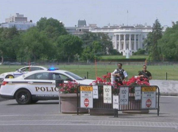 В США оцеплен Белый дом из-за стрельбы, убит мужчина