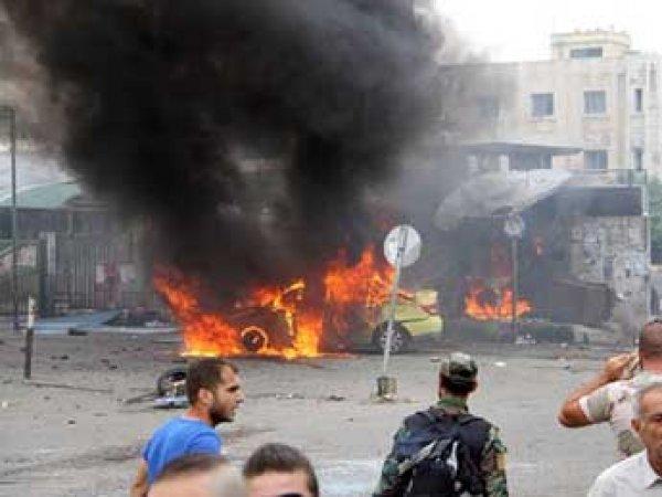 В сирийской Латакии за утро произошли сразу семь терактов