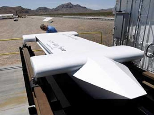 В США успешно испытали вакуумный поезд Hyperloop