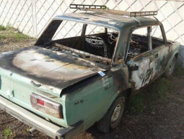 В Хабаровском крае двухлетний ребенок сгорел в отцовской машине