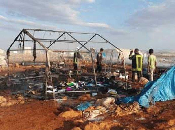 Авиаудар, убивший 30 беженцев в Сирии, попал на видео