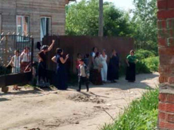 Под Тулой начали снос домов цыган, поселок Плеханово оцепили 400 полицейских (видео)