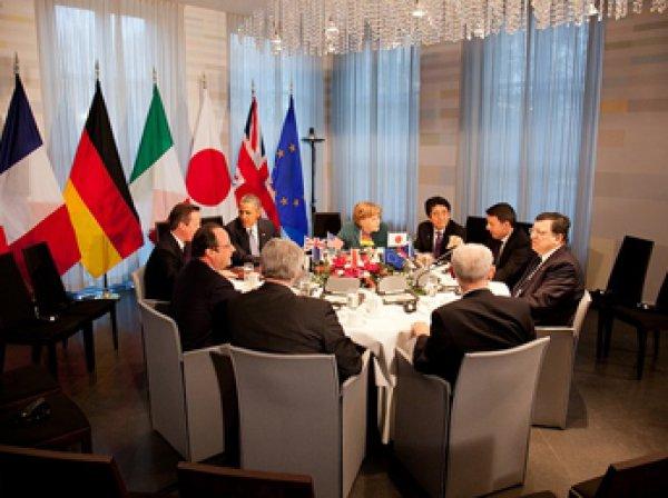 Лидеры G7 сохранили санкции в отношении РФ: от Москвы требуют невозможного