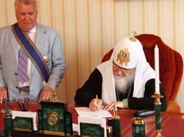 Соцсети взорвало ФОТО кабинета и стола патриарха Кирилла