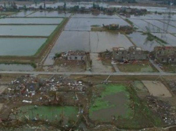 99 человек в Китае погибли от урагана