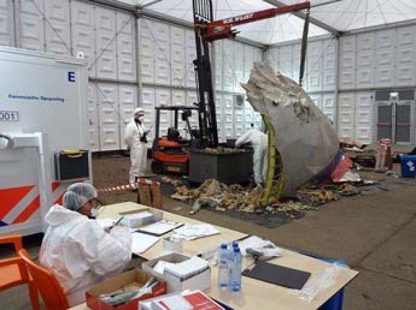 Голландские эксперты опубликовали отчет о крушении Boeing МН17 в Донбассе