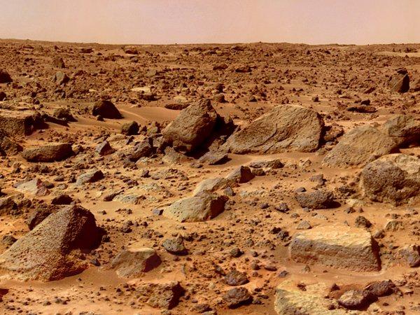 Ученые нашли на Марсе следы извержения древних вулканов