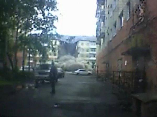 ВИДЕО момента обрушения дома в Междуреченске появилось в Сети