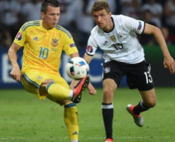 Германия - Украина, счет 2:0: обзор матча, видео голов (ВИДЕО)