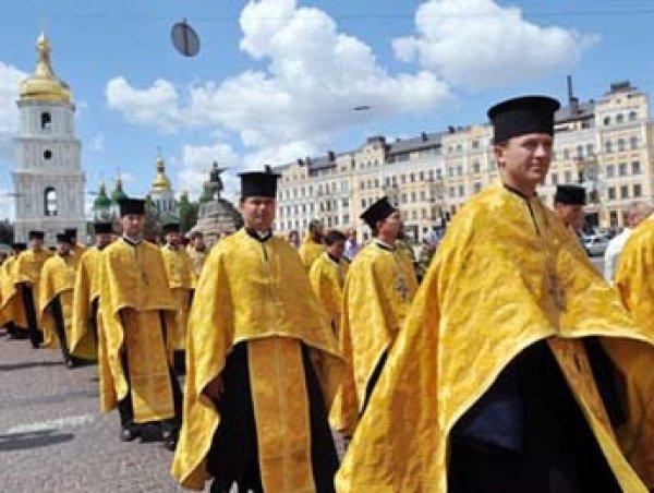 Рада Украины потребовала признать независимость украинской церкви от РПЦ