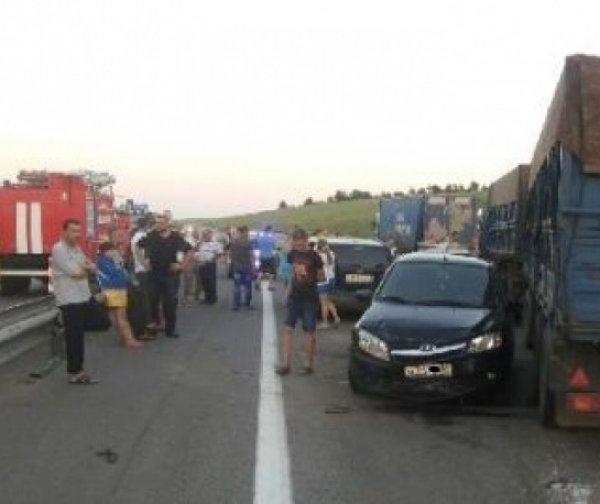Авария в Воронежской области на трассе М-4 26 июня: двое погибших (ФОТО)