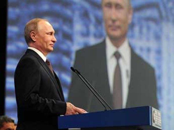 """Путин на ПМЭФ 2016 рассказал о новой """"холодной"""" войне, Трампе, допинге и экономическом союзе (ВИДЕО)"""