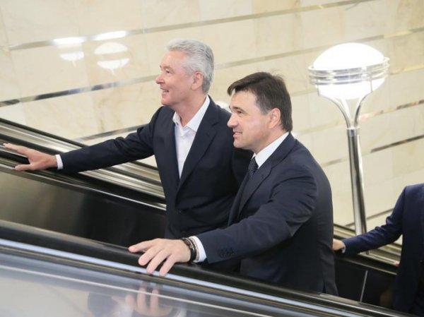 Губернатор Подмосковья поздравил Собянина с днем рождения фотографией с фильтром Prisma (ФОТО)